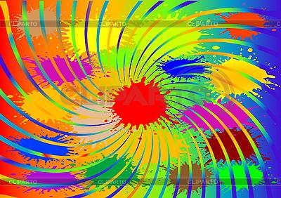Abstrakter Hintergrund mit Farbblots | Stock Vektorgrafik |ID 3054674