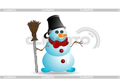 Снеговик | Иллюстрация большого размера |ID 3054814