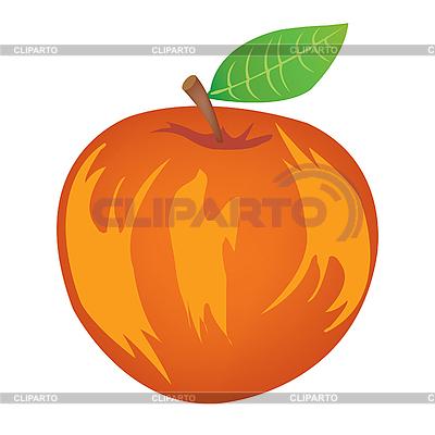 Dojrzałe jabłko | Klipart wektorowy |ID 3061874