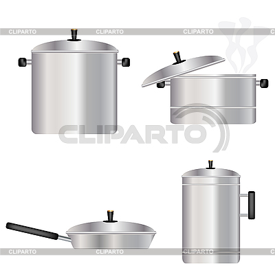 Naczynia dla kuchni | Klipart wektorowy |ID 3128693