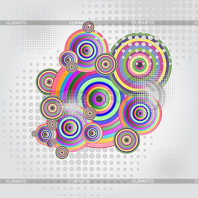 Streszczenie koła | Klipart wektorowy |ID 3058899