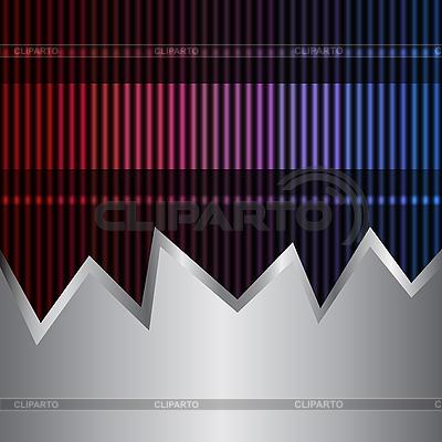 Neon i metalu tle | Klipart wektorowy |ID 3073722