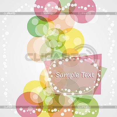 Abstrakte bunte Kreise | Stock Vektorgrafik |ID 3074341
