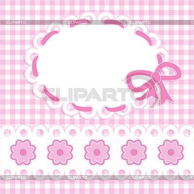 Karta dziewczynka | Klipart wektorowy |ID 3081860