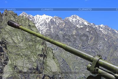 Pistolet pogoda między górach Północnej Osetii | Foto stockowe wysokiej rozdzielczości |ID 3304679