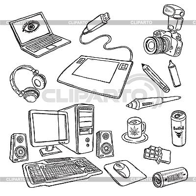 Set von Designer | Stock Vektorgrafik |ID 3059560