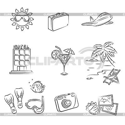 Urlaub am Meer | Stock Vektorgrafik |ID 3060649