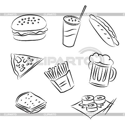 Fast-Food | Stock Vektorgrafik |ID 3063077