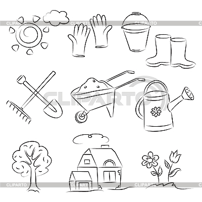 Ogrodnictwo | Klipart wektorowy |ID 3063099