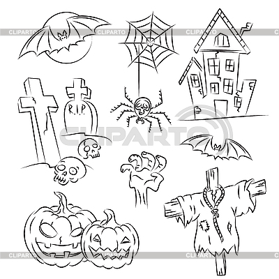 Halloween | Stock Vektorgrafik |ID 3063129