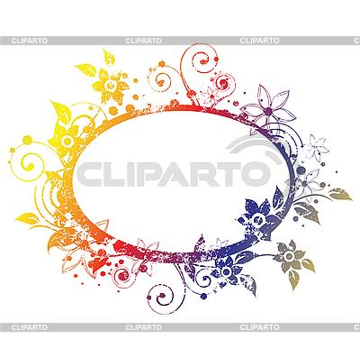 Floral frame   Klipart wektorowy  ID 3065029