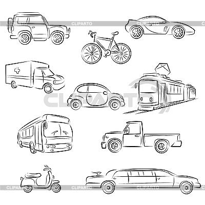 Transport miejski | Klipart wektorowy |ID 3082275