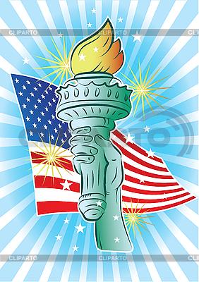 Hand von Freiheit | Stock Vektorgrafik |ID 3082401