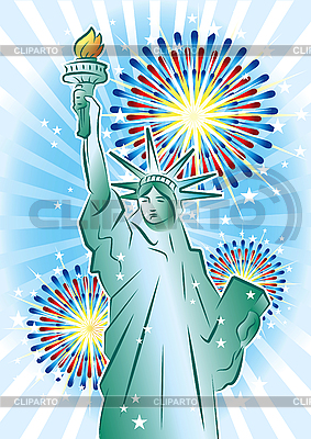 Freiheitsstatue | Stock Vektorgrafik |ID 3082405