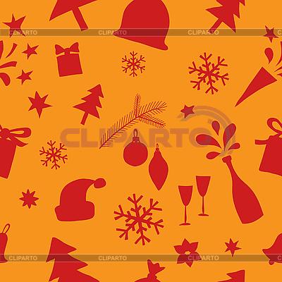 Nahtloses Weihnachtsmuster | Stock Vektorgrafik |ID 3097308