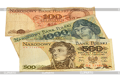 Polnische Złoty-Banknoten | Foto mit hoher Auflösung |ID 3060875