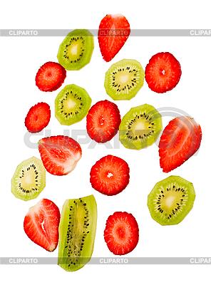 Erdbeere undKiwi | Foto mit hoher Auflösung |ID 3067359