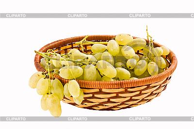 Winogrona w koszyczku | Foto stockowe wysokiej rozdzielczości |ID 3068006
