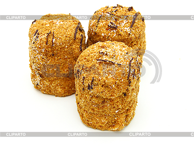 Honigkuchen mit Schokolade | Foto mit hoher Auflösung |ID 3067528