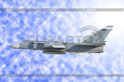 Wojsko bombowiec Su-24 | Foto stockowe wysokiej rozdzielczości |ID 3068589