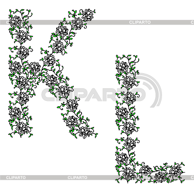 hand drawing ornamental alphabet letter yz   hot girls