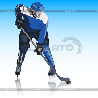 Eishockey-Spieler | Stock Vektorgrafik |ID 3099971