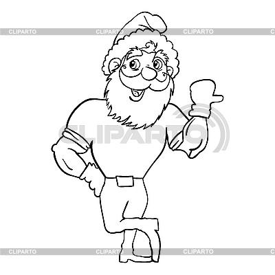 Święty Mikołaj | Klipart wektorowy |ID 3100315