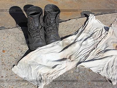Żołnierskie buty | Foto stockowe wysokiej rozdzielczości |ID 3111779