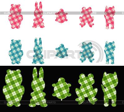 Łata w kształcie zwierząt | Klipart wektorowy |ID 3089200