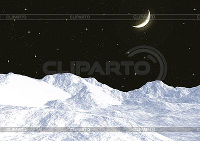 Schneebedeckte Berge | Illustration mit hoher Auflösung |ID 3112993