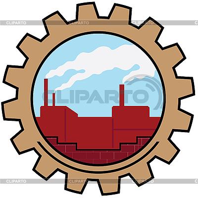 Fabrik-Symbol | Stock Vektorgrafik |ID 3082081