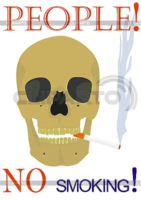 Ludzie! Nie palić! | Foto stockowe wysokiej rozdzielczości |ID 3080481