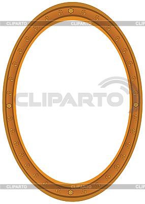 Ovaler Rahmen | Stock Vektorgrafik |ID 3081206