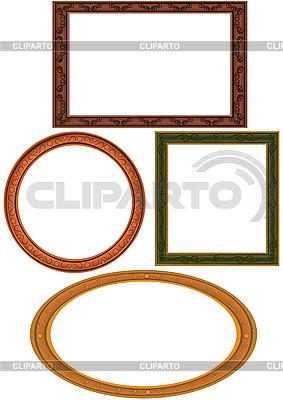 Ramki do obrazu | Klipart wektorowy |ID 3081411