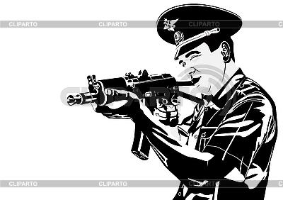 man with gun badge - photo #13