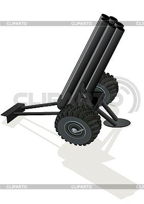Szachy Czarny Koń Mortar | Klipart wektorowy |ID 3096904
