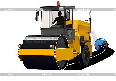Asphaltierung von Straßen | Stock Vektorgrafik |ID 3100480