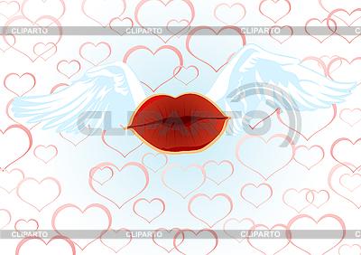 Pocałunek | Klipart wektorowy |ID 3127080