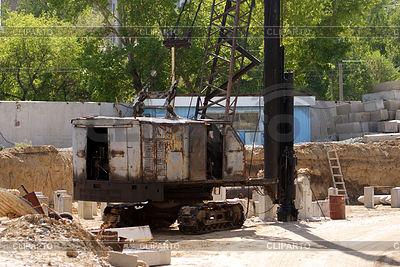 Maszyny budowlane | Foto stockowe wysokiej rozdzielczości |ID 3304674