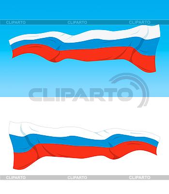 Russische Flagge | Stock Vektorgrafik |ID 3102740