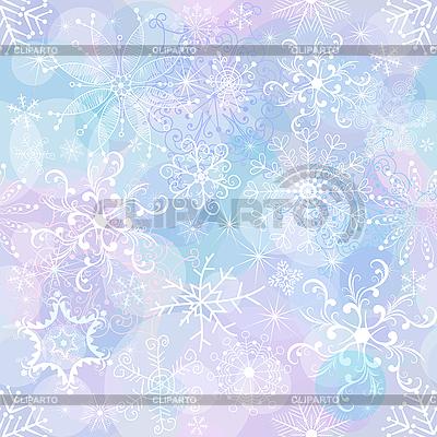 Новогодний фон из снежинок | Векторный клипарт |ID 3108207