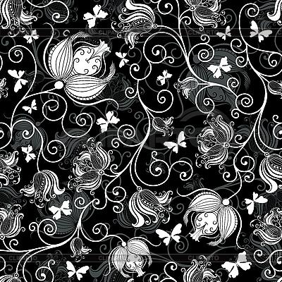 клипарт цветочные узоры: