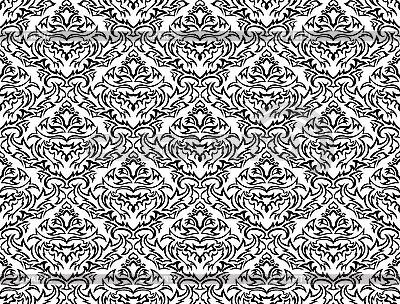 Nahtloses Damast-Muster | Stock Vektorgrafik |ID 3083232