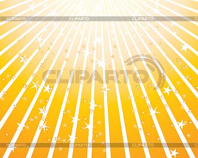 Gelber Feier-Hintergrund mit Sternen | Stock Vektorgrafik |ID 3089034