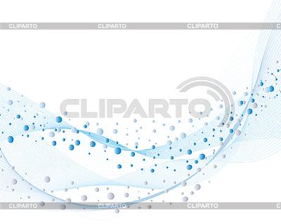 Tło z bąbelkami wody | Klipart wektorowy |ID 3108168