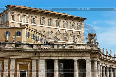 Rezydencja papieża w Watykanie | Foto stockowe wysokiej rozdzielczości |ID 3233521