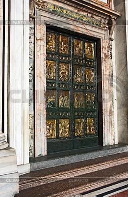 Heiliges Tor im Petersdom | Foto mit hoher Auflösung |ID 3233564
