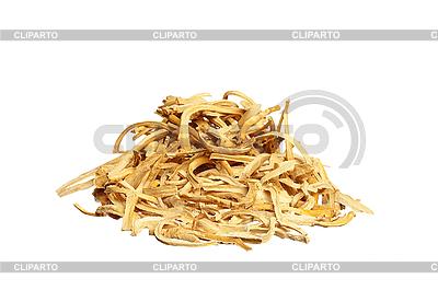 Cięcia suszonych korzeni | Foto stockowe wysokiej rozdzielczości |ID 3120169