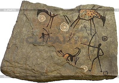 Malowidła skalne | Foto stockowe wysokiej rozdzielczości |ID 3112002