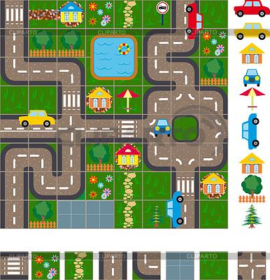 Program Mapa ulic | Klipart wektorowy |ID 3305327